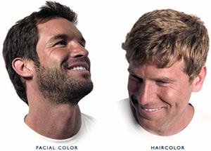 hårfärg för män grått hår