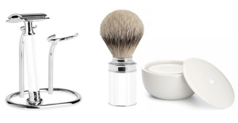 Modern Shaving Kit White
