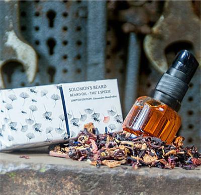 Solomons Beard Beard Oil Alessandro Manfredini 15 ml